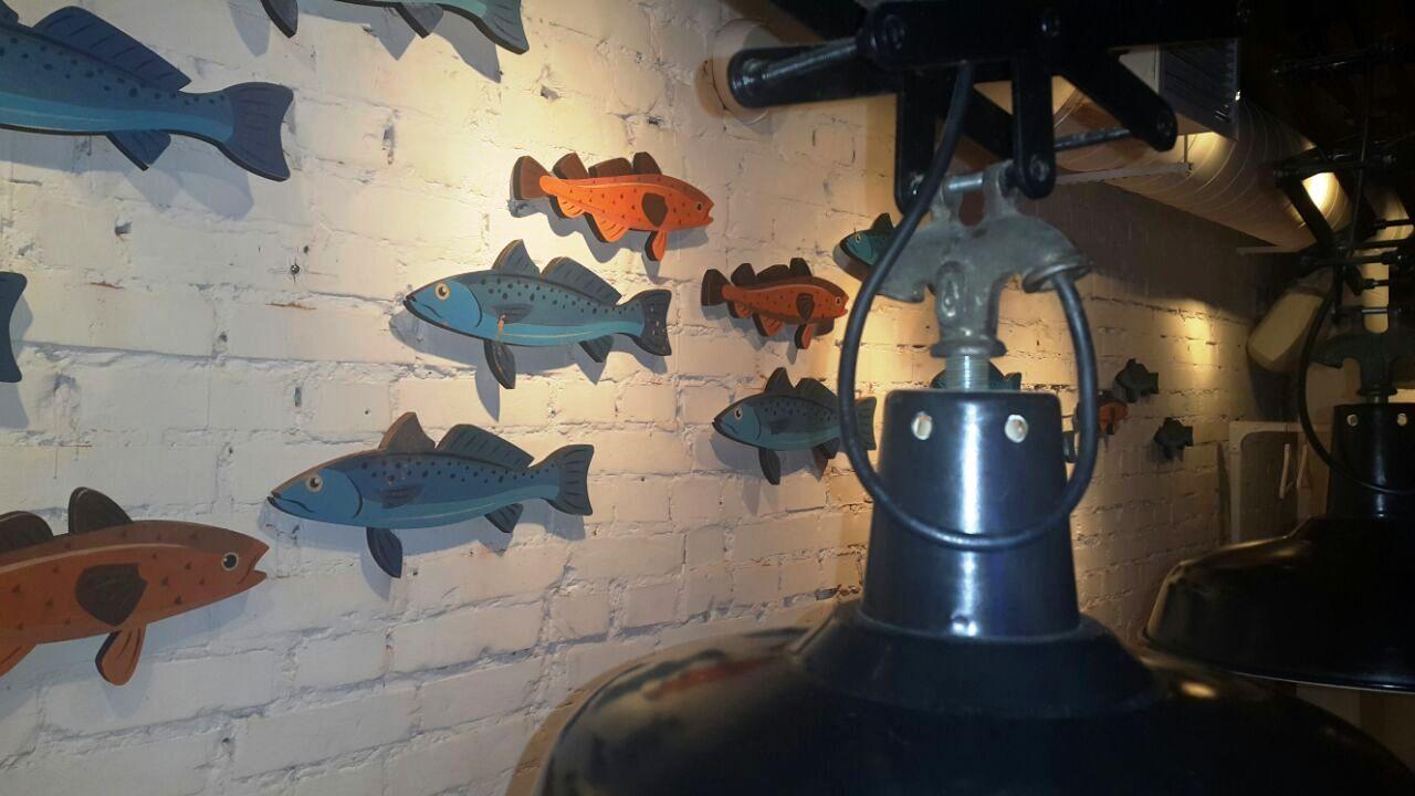 Рыбки для кафе - Макеррони